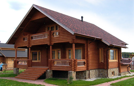 Проекты одноэтажных домов из бруса, одноэтажные дома