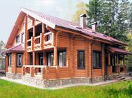деревянный дом оцилиндрованное бревно
