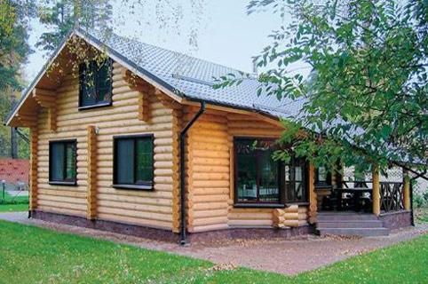 Проект деревянного дома из бревна о 23