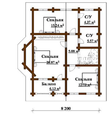 План первого этажа план второго