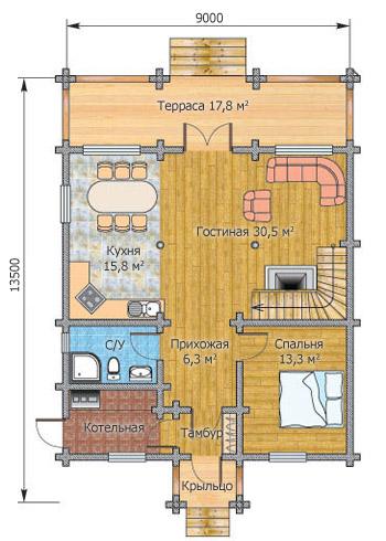 Этажа вариант о 84в 160 м кв план о